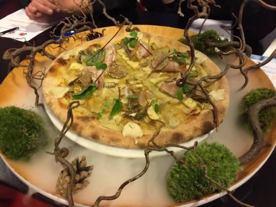 Pizza a due, Carciofata de Julien SERRI et Denny IMBROISI